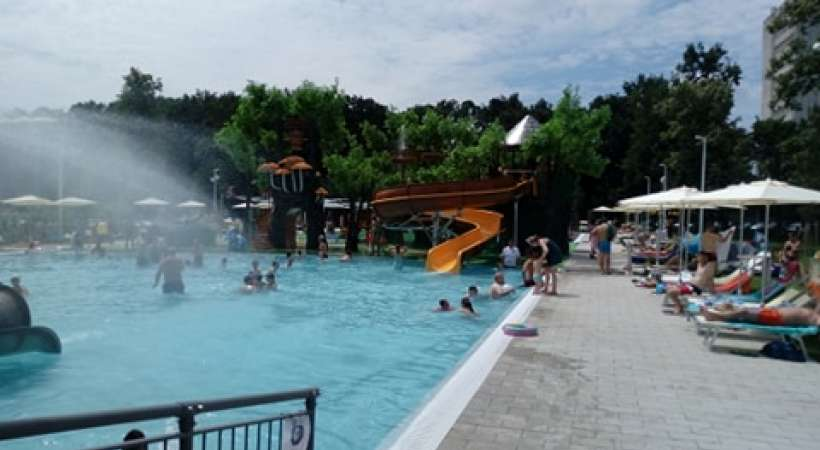Debrecen új strandja, az Aquaticum - medencék